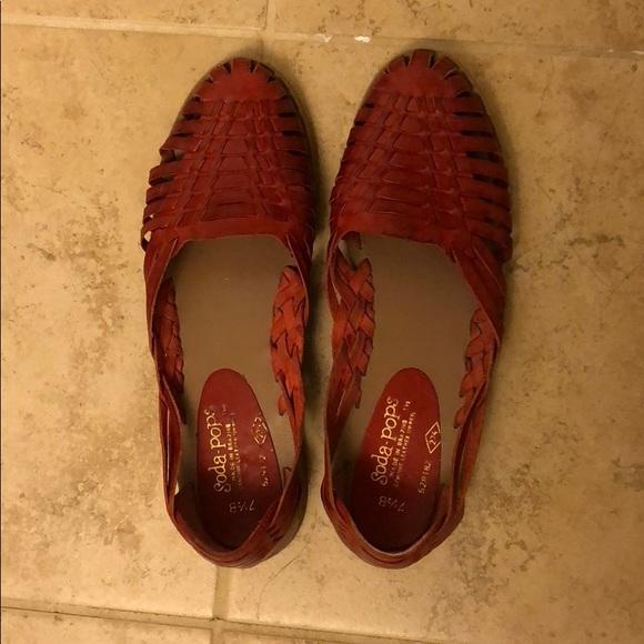 717bdf66e90e Vintage huarache sandals. M 5ab46171739d48a5c5e342b3